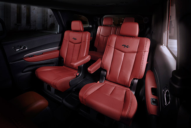 2015 Dodge Durango R-T Nappa Leather Seats