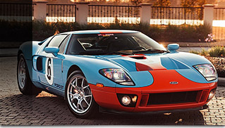 2006 Ford GT Heritage Edition Front Angle
