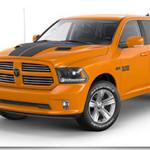 2015 Ram 1500 Ignition Orange Sport Crew Cab