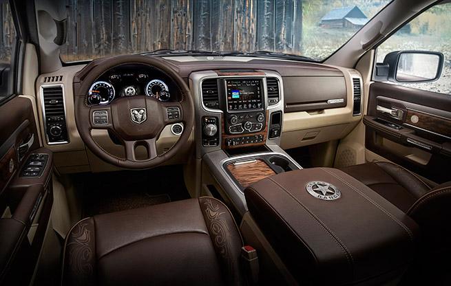 2015 Ram 1500 Texas Ranger Concept Truck Interior