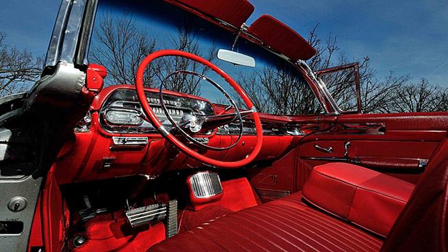 1957 Cadillac Eldorado Biarritz Convertible Interior