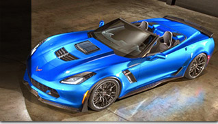 2015 Callaway Chevrolet Corvette Z06 Front Angle