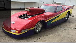 1999 Chevrolet Corvette Front Angle