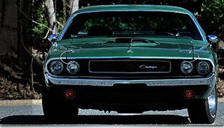 1970 Dodge Hemi Challenger RT Front