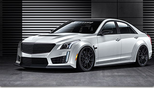 Hennessey Cadillac CTS-V  HPE1000 Twin Turbo Upgrade