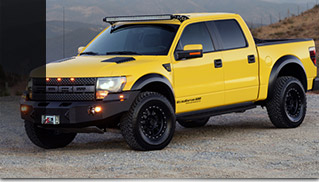 Hennessey VelociRaptor 650 Supercharged Upgrade Front Angle
