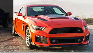 2015 ROUSH Performance Ford Mustang Stage 3 Front Angle