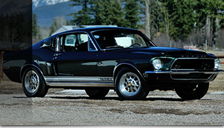 1968 Shelby GT500KR Front Angle