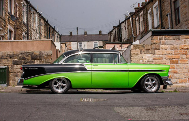 1956 Chevrolet Bel Air Side