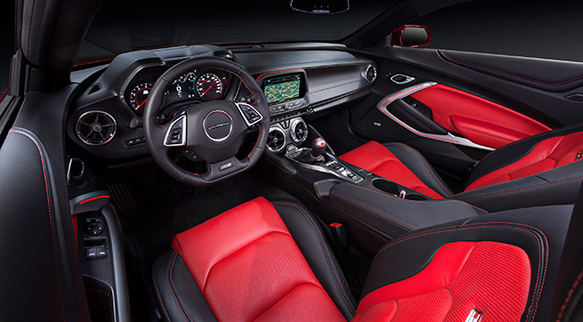2016 Chevrolet Camaro Interior