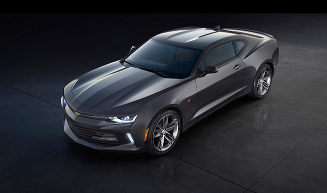 2016 Chevrolet Camaro Left Front Angle