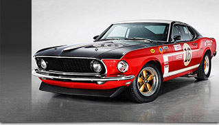 1969 Ford Mustang Boss 302 Bud Moore