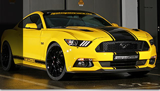 2015 GeigerCars Ford Mustang Fastback GT Premium Front Angle