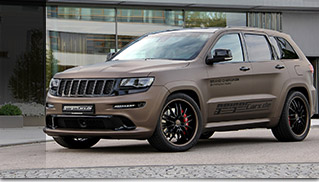 2015 GeigerCars Jeep Grand Cherokee Front Angle