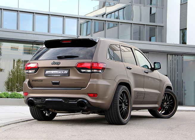 2015 GeigerCars Jeep Grand Cherokee Rear Angle