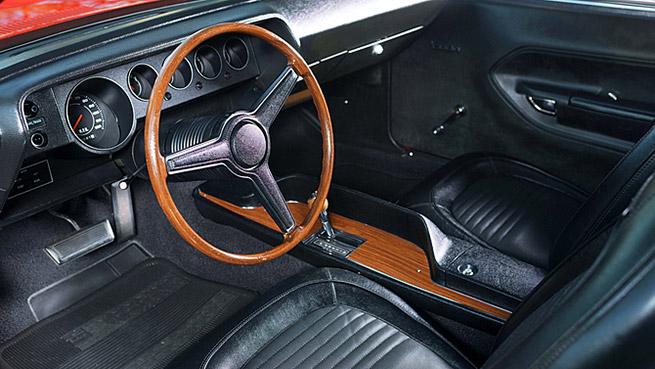 1970 Plymouth Hemi Cuda Unrestored Interior