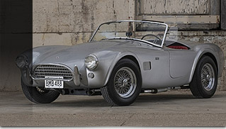 1965 Shelby 289 Cobra Roadster CSX2549 Front Angle