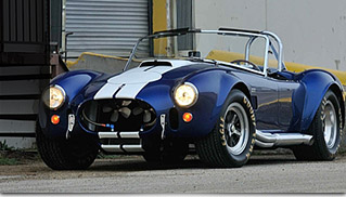 1967 Shelby 427 Cobra Roadster Front Angle