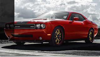 2015 California Wheels Dodge Challenger SV28S Front Angle