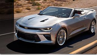 2016 Chevrolet Camaro Convertible Front Angle