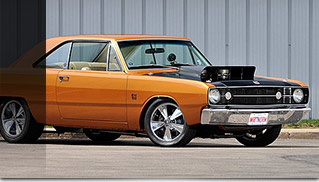 1968 Dodge Dart GSS 472CI 4-Speed Front Angle
