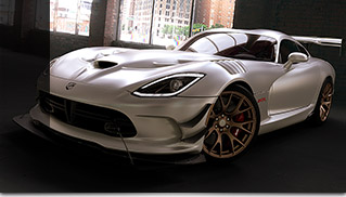 2016 Dodge Viper ACR Matte Exterior Front Angle