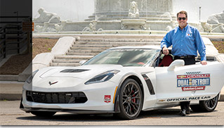 Mark Reuss to Pace Detroit Grand Prix in Corvette Z06