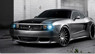 Savini Dodge Challenger Widebody