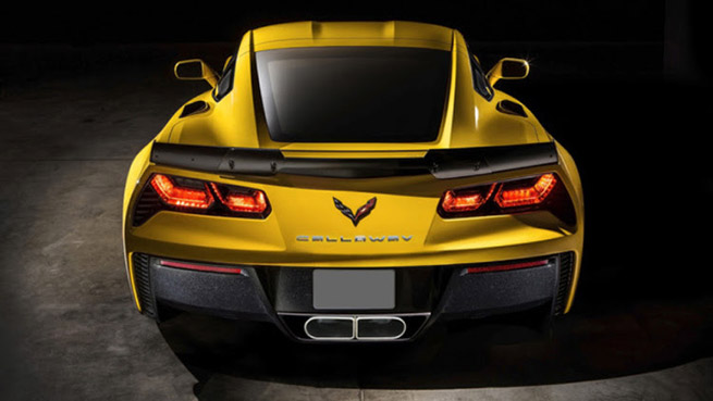 2015 Callaway Chevrolet Corvette Rear