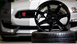 Carbon Fiber Wheels for Shelby GT350R Mustang