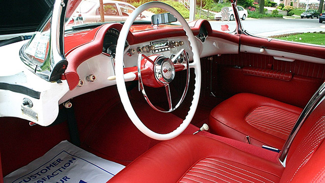 1953 Chevrolet Corvette Roadster Interior