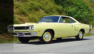 1969 Dodge Hemi Super Bee Front Angle