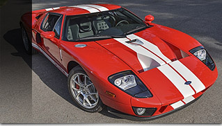 2005 Ford GT Front Angle