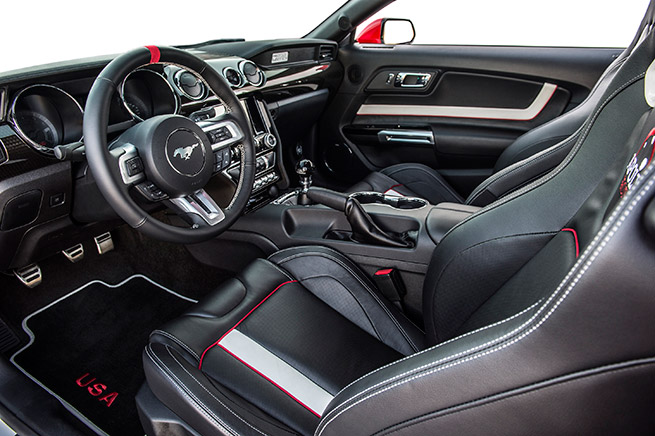 2015 Ford Mustang Apollo Edition Interior