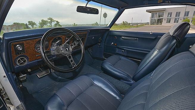 1969 Pontiac Trans Am Ram Air IV Interior