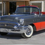1955 Buick Roadmaster Convertible 1st in Class at the Texas Concours dElegance