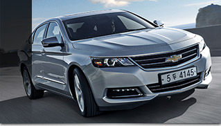 2016 Chevrolet Impala Front Angle Kores Edition