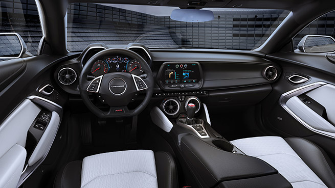 Chevy Reveals Price Online Visualizer for 2016 Camaro Interior