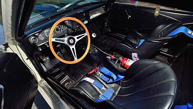 1966 Shelby GT350H Fastback 289-415 HP Interior
