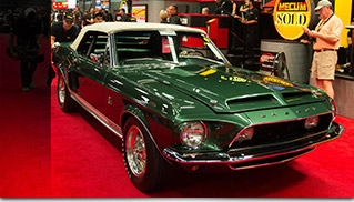 1968 Shelby GT500KR Convertible Front Angle