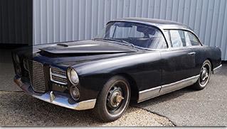 1959 Facel Vega HK 500 Front Angle