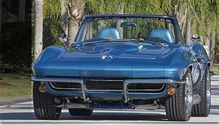 1965 Chevrolet Corvette Convertible Ralph Eckler Signature Corvette No.1