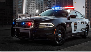 2016 Dodge Charger Pursuit Front Angle