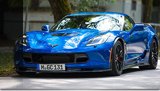 2015 GeigerCars Chevrolet Corvette Z06 Fornt Angle