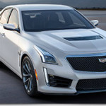 2016 Cadillac V-Series Crystal White Frost Editions