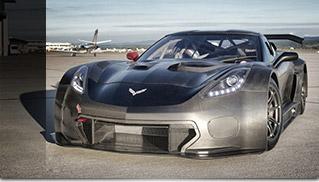 Callaway Corvette C7 GT3-R Front Angle