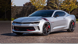 2016 Chevrolet Camaro Red Line Series Concept Front Angle