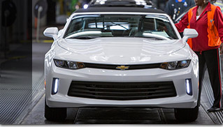 Chevrolet Readies Shipment of 2016 Camaro