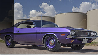 1970 Dodge Hemi Challenger RT Front Angle