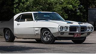 Pontiac Trans Am 1969 Front Angle